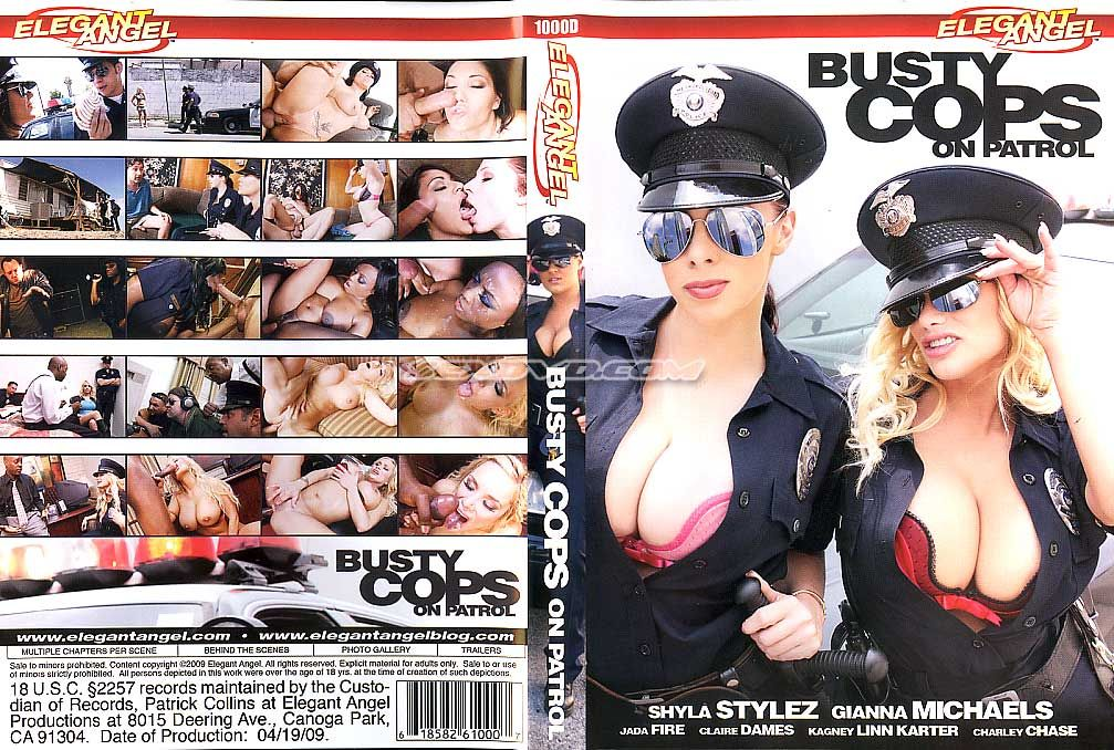 Busty Cops on Patrol / Грудастые копы в патруле (Elegant Angel) [2009 г., All Sex, Big Tits, Fantasies, DVD5]