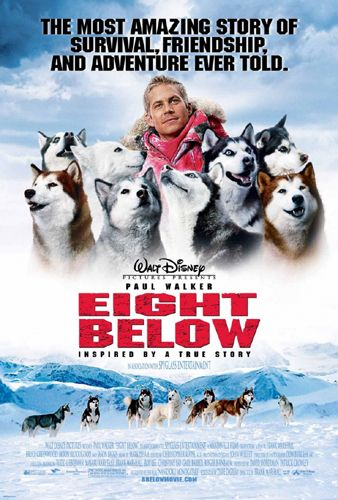 Белый плен / Eight Below (Фрэнк Маршалл / Frank Marshall) [2006 г., мелодрама, драма, приключения, семейный, HDRip] Dub
