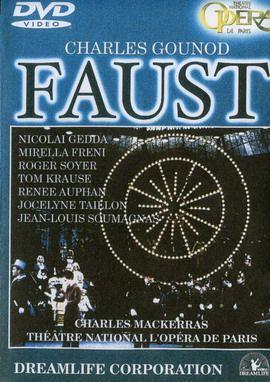 Gounod - Faust (Gedda, Freni, Krause) / Гуно - Фауст (Гедда, Френи, Краус) (Theatre de Paris) [Opera, DVD5]