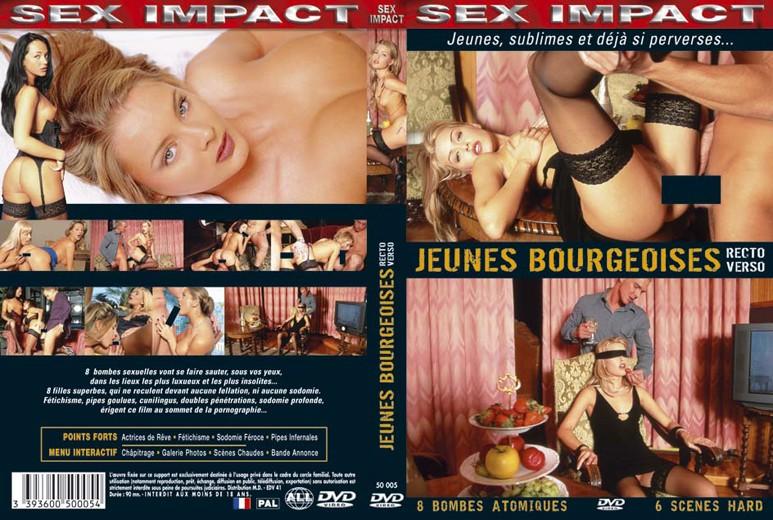 Jeunes bourgeoises recto verso порнофильм