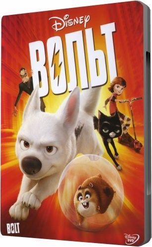 Вольт / Bolt (Байрон Ховард / Byron Howard, Крис Уильямс / Chris Williams) [2008 г., комедия, приключения, семейный, мультфильм, BDRip] Dub (rus) + original + sub