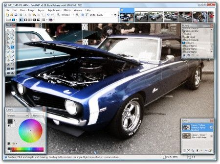 Paint.NET Rus 3.50 (Ultra Pack 1.54) 2009 Multi