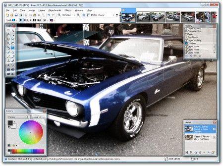 Paint.NET Rus 3.50 (Ultra Pack 1.54) 2009 Multi