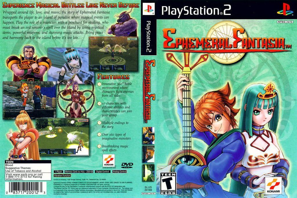 [PS2] Ephemeral Fantasia [NTSC/ENG]