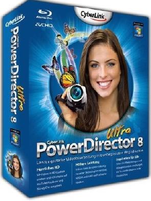 Cyberlink PowerDirector Ultra v8.00.2220 (2009) (Multi7) PC