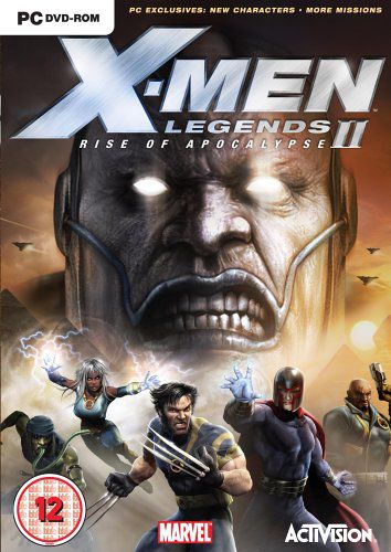 X-Men Legends 2: Rise of Apocalypse (Activision) [ENG+RUS] [P]