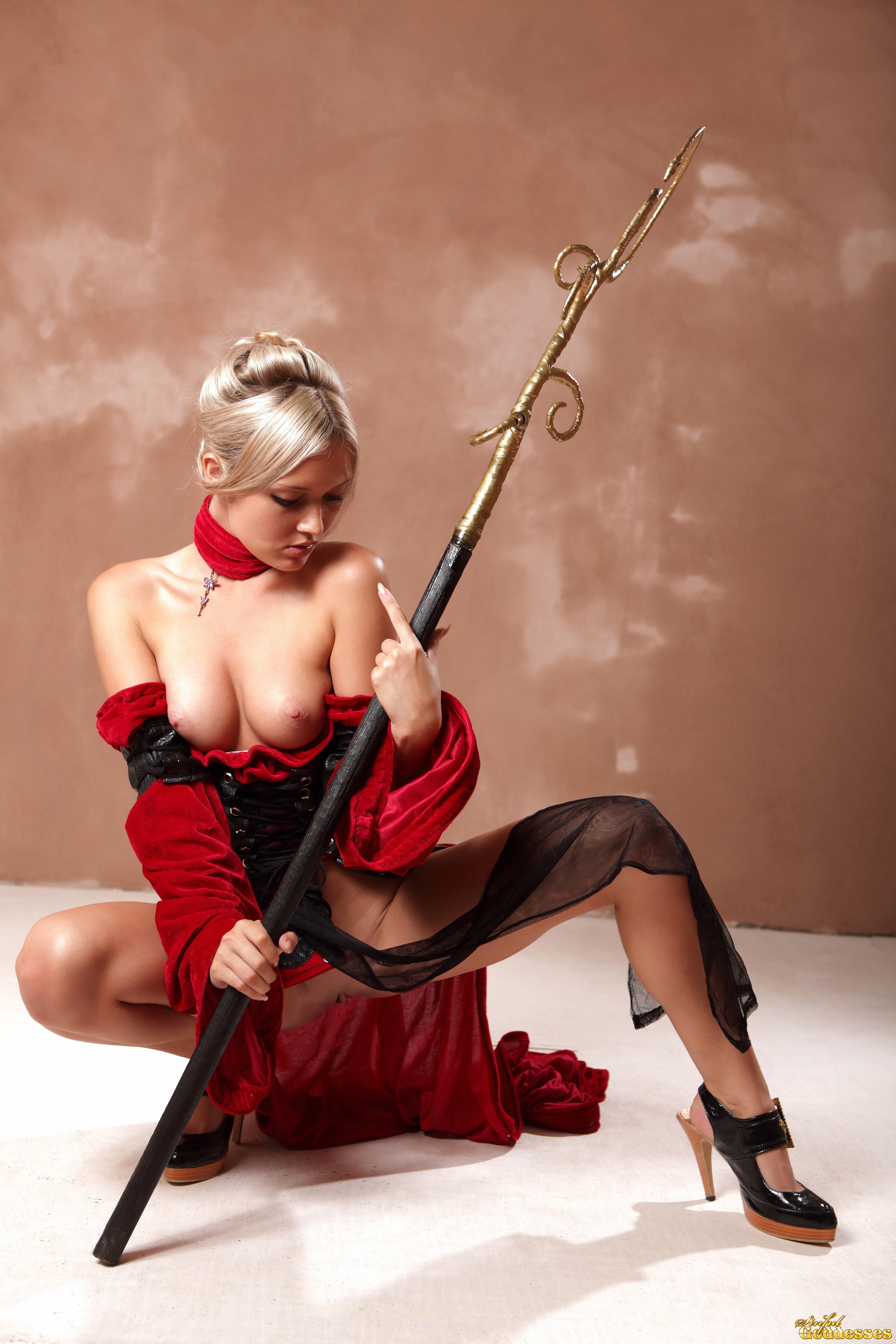 Elves warrior nude sexy model porn images