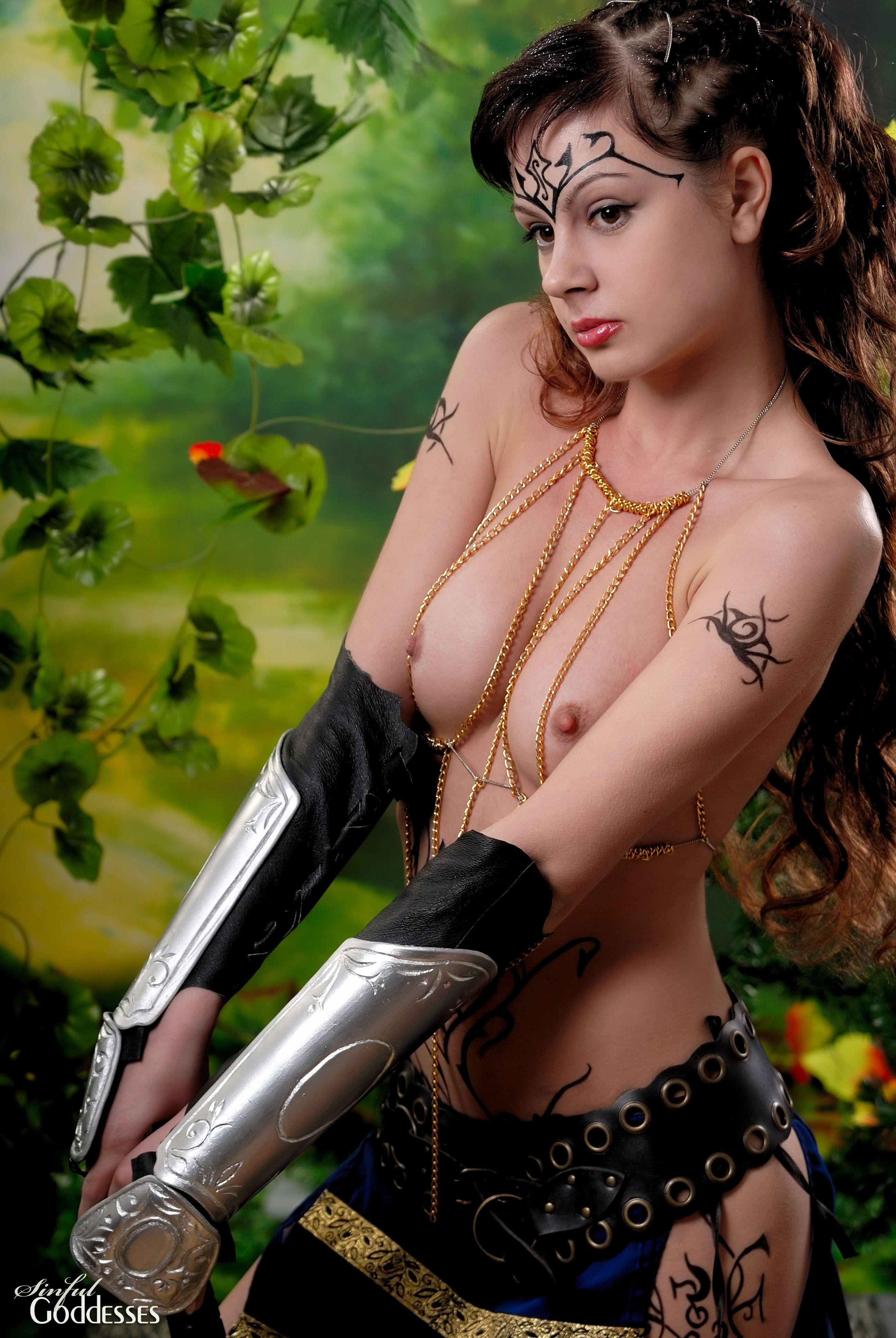 Girl hot warrior topless nackt pictures