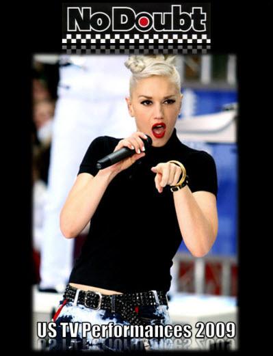 No Doubt - US TV Performances[2009 г., Ska-Punk / Pop-Rock, HDTVRip]