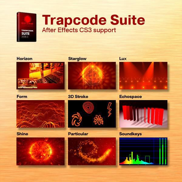 Плагины Trapcode  для After Effects Самые новые версии [2009]