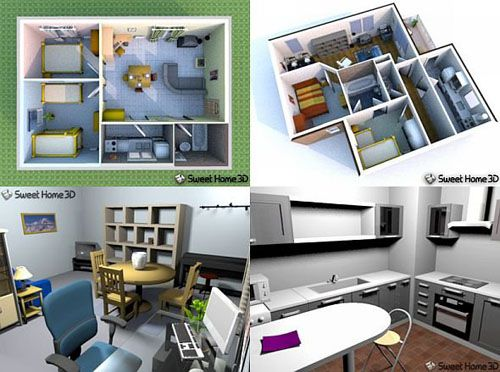 Sweet Home 3D 2.1 (2009) RUS+ENG WIN+MAC