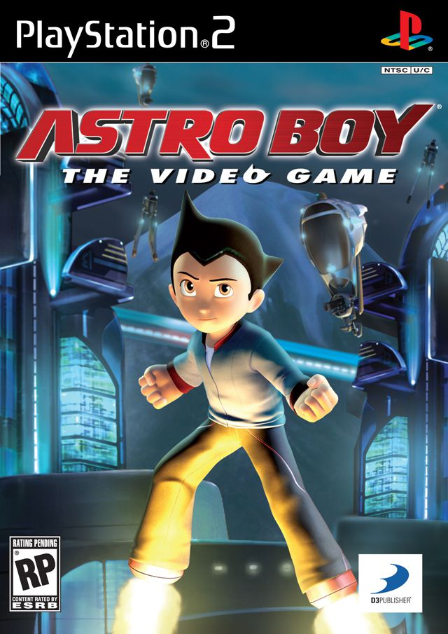 [PS2] Astro Boy: The Video Game [NTSC/RUS]