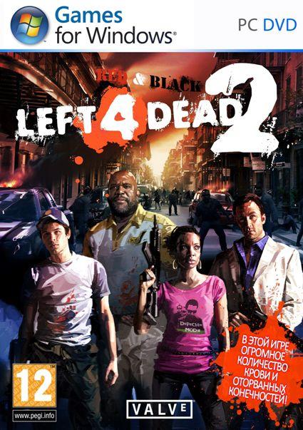 Left 4 Dead 2 RedBLACK Final (Акелла) (RUS) (P)