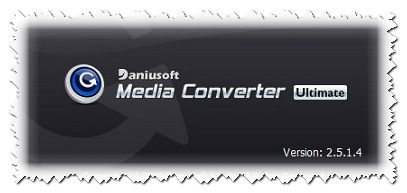 Daniusoft Media Converter Ultimate v2.5.1.4 (2009) ENG PC