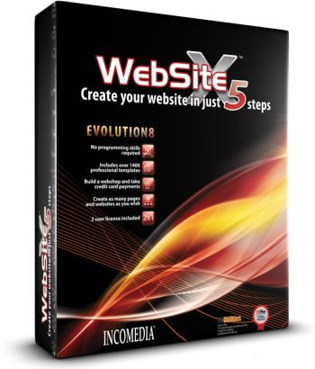 Incomedia WebSite Evolution X5 v8.0.11 (ENG+RUS)