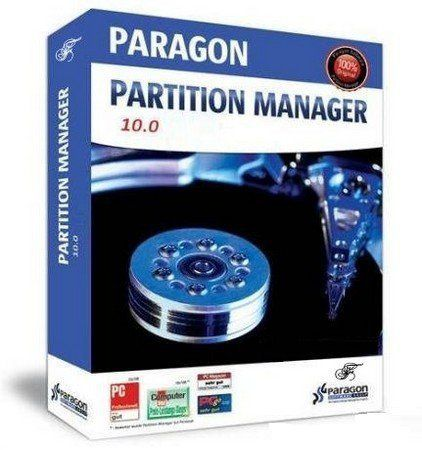 Paragon Partition Manager 10.0.8622 Special Edition Russian 2009