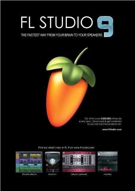 FL Studio XXL v9.0.1 (Fruity Loops) 2009 RUS+ENG PC